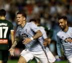 Santi Mina evita la derrota del Celta en el último minuto