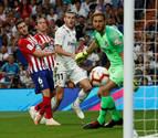 El derbi Atlético de Madrid-Real Madrid, en cinco duelos