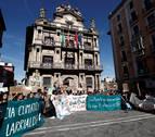Los estudiantes navarros salen a la calle contra el cambio climático