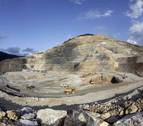 La mina de Eugi, uno de los yacimientos más importantes de magnesitas de Europa