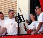 Un cohete 'musical' para iniciar las fiestas de Cortes