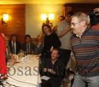 El himno de Osasuna despide el funeral de Javier Martínez de Zúñiga