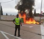 Incendiados cuatro contenedores de Cortes la pasada madrugada