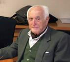 Fallece a los 97 años el doctor José Javier Gortari, lanzador del chupinazo de 1987