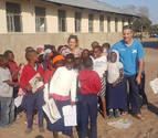 La experiencia de dos navarros como voluntarios en Mozambique y Colombia