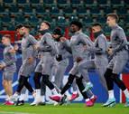 El Atlético visita al Lokomotiv, sorprendente líder de su grupo