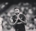 El futbolista del Levante Hernani pide perdón por su expulsión