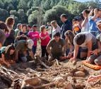 Recuperados en Ollacarizqueta los restos de 16 víctimas del golpe militar de 1936
