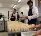 Empresas navarras se promocionan en el 'Catar Navarra' celebrado en Baiona