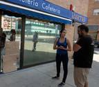 Denuncian un robo de madrugada en una cafetería de Berriozar