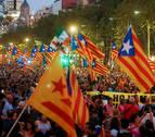 El independentismo celebra un 1-O de perfil bajo con llamada a la desobediencia