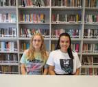 Alumnas del Valle del Ebro, en un congreso internacional de jóvenes