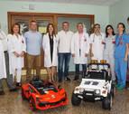 Cochecitos eléctricos llevarán a los menores al quirófano en el Reina Sofía de Tudela