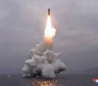 Corea del Norte lanza un nuevo misil desde un submarino