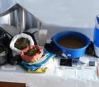 Policía Municipal desmantela un laboratorio de elaboración de hachís en Buztintxuri
