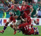 Irlanda y Fiji se apuntan dos contundentes victorias frente a Rusia y Georgia