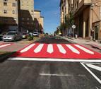 Finaliza la mejora de la avenida del Barrio con un coste de 138.387 euros