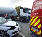 Fallece el conductor herido muy grave en un accidente en Berrioplano