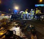 Un conductor de 76 años causa ocho heridos al circular en sentido contrario en Madrid