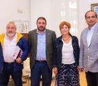 El Foro Social Permanente visita el Parlamento de Navarra