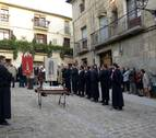 La Procesión de los Muros volvió a recorrer las calles de Tafalla