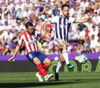 El Atlético de Madrid se atasca en Valladolid