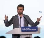 Casado reúne este viernes en Pamplona al comité de dirección del PP