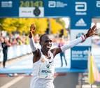 Eliud Kipchoge busca en Viena bajar de las 2 horas en el maratón