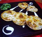 Empanadillas redondas de hongos