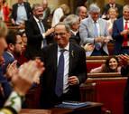 El Parlament rechaza la moción de censura a Torra, que enfrenta a Cs y PSC