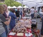 El mercado del sábado en Estella tendrá que buscar otra financiación