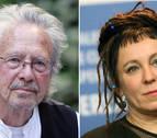 Peter Handke y Olga Tokarczuk ganan el doble Premio Nobel de Literatura