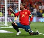 Sergio Ramos, leyenda de España