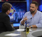 Polémica entrevista a Santiago Abascal en El Hormiguero