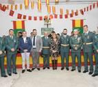 La Guardia Civil honra a su patrona en la Ribera