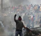 La Policía asume el control de la zona de protesta indígena en Ecuador