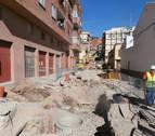 La calle Travesía el Cristo de Viana, en obras por 253.647 €