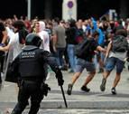 Las protestas independentistas dejan 131 heridos en Cataluña