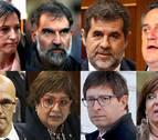 El Tribunal Supremo condena a entre 9 y 13 años a los líderes del