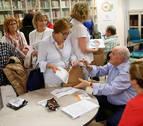 El librosobre la felicidad de Garrido se presenta en Tudela tras el exitoso encuentro de Pamplona