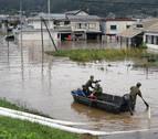 Japón busca supervivientes tras el paso de un tifón que deja más de 50 muertos