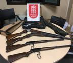 Detenido con armas de fuego robadas y 21 plantas de marihuana en su vivienda