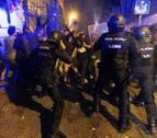 El Eixample barcelonés se convierte en el escenario de una batalla campal