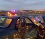 Una persona herida en un accidente de tráfico ocurrido en Peralta