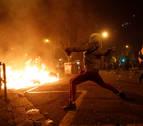 Agreden a periodistas de TVE que cubrían los actos violentos en Barcelona