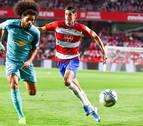 Osasuna sufre la receta de Diego Martínez y pierde en Granada