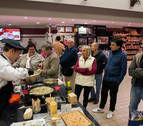 E.Leclerc Pamplona ofrece al público un Showcooking con cordero de Navarra
