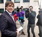 Puigdemont, en libertad sin fianza con condiciones tras comparecer en Bélgica