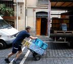 Cómo repartir 5.000 kilos en tres horas en Pamplona