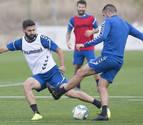 Osasuna se ejercita después de la derrota frente al Granada